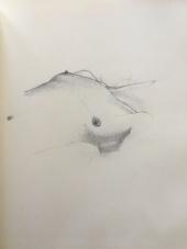 Erotica Figure Session Sketch